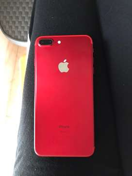 Iphone 7 plus 128 GB clear condition