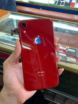 SECOND IPHONE XR 64GB RED EX INTER PAKAIAN PRIBADI