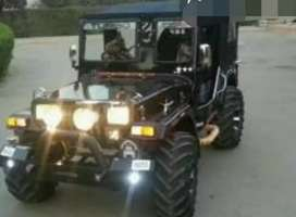 Classic modified jeep