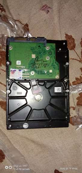 Very good condition 500gb hard disc 1 year old only