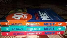 40 days neet books