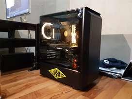 Phanteks P300 Eclipse Tempered Glass RGB PC Case Casing
