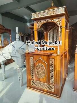 Mimbar masjid feed doof ukir J565 kode