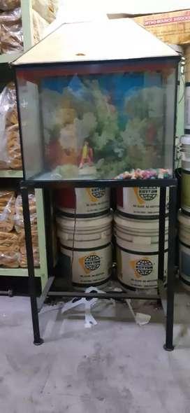 Fish aquarium with stand 2feet*1.5 feet * 1 feet good condition