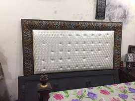 Bed and side dressing tables(Araish furniture)