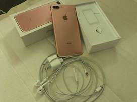 Apple I phone 7+ with cash on delivery