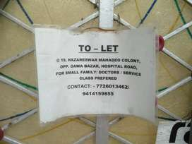 3 bhk flat with parking area at a very prominent location.