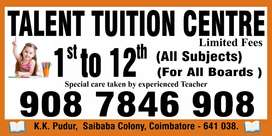 Maths Tuition Center in KK Pudur Saibaba Colony