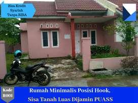 Rumah Minimalis Posisi Hook di Padang, Sisa Tanah Luas Pasti Anda Puas