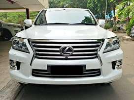 Lexus LX570 Luxury 2014 super white
