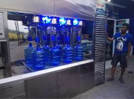Damisiu depot air minum pilihan memproduk partisi stainles