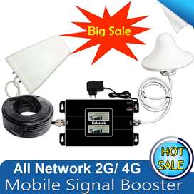 Solution for 2G/4G mobile Signal Problems with Mobile signal Booster