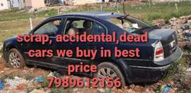 Scrap/car/buyer/we/buy/all/scrap/old/accidental/cars/at/your/place