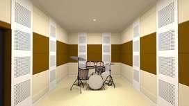 peredam suara akustik ruang studio ballroom meeting room karaoke film