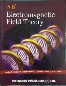 Electromagnetic Field Theory unused book in low price [EMFT ECE/EE]