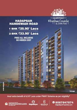 NEW LAUNCHING MAJESTIQUE RHYTHM COUNTY AT HANDEWADI ROAD