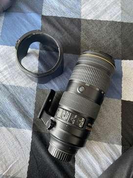 Nikon 70-200 f2.8 FL ED VR LENS