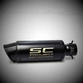 SC project motor exhaust FF1101