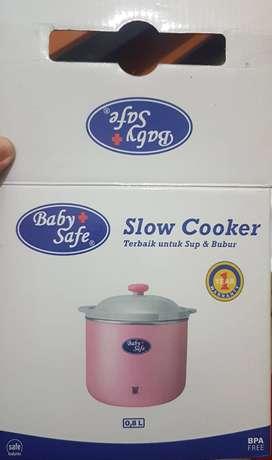 Slow Cooker Baby Safe 0,8L Pink