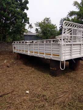 Bharat benz 17 feet body for sale open type