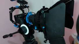 Rig for DSLR Red Rock Micro