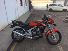 Kawasaki ninja r 150 (2013) orange
