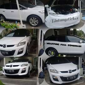 sticker wrapping mobil