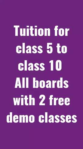 Tutor for class 5 to class 10 all subject (ICSE, CBSE and Bihar board)
