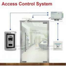 Biometric Security System Electric Door Access control system