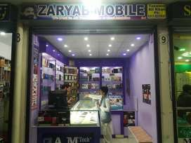 Running business for sale,mobile shop