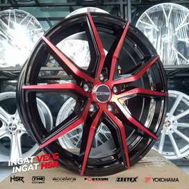 Velg Racing VITAL JD5270 HSR R18X8 H5X114,3 ET42 BMF-RED