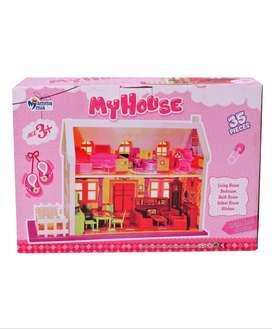 Toys- Doll House 34 Pcs.
