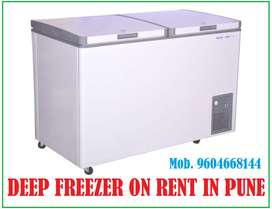 Double Door Hard Top Convertible 2 in 1 Deep Freezer on Rent in Pune