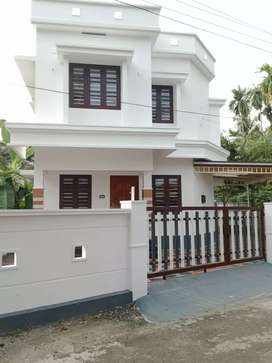 3 bhk 1400 sqft 3.5 cent new build house at aluva varapuzha road
