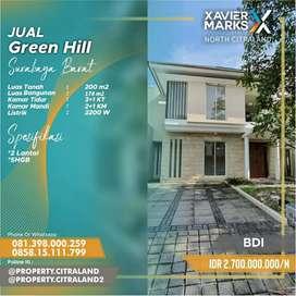 Dijual Rumah Mewah Minimalis Green Hill