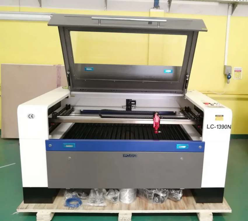 mesin laser GWEIKE 1390 table up & down 0