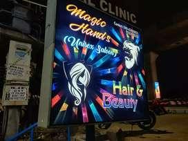 Argent For sale Magic hands unisex saloon