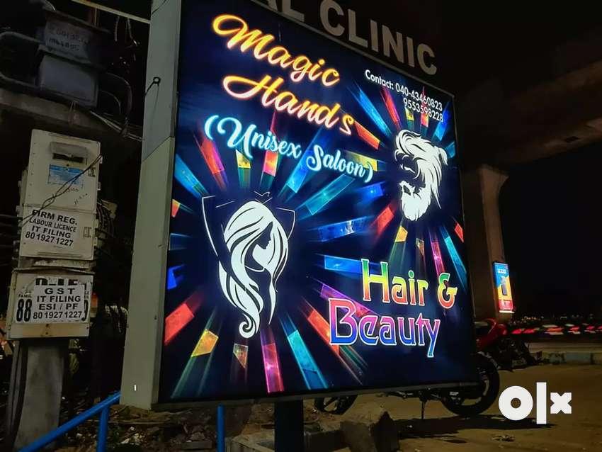 Argent For sale Magic hands unisex saloon 0