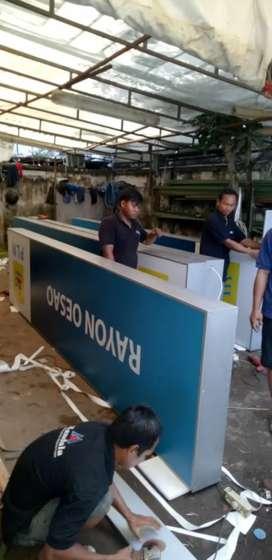 Pusat reklame advertising neon box surabaya