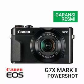 Kredit Canon PowerShot G7X Mark II Promo Gratis 1x Cicilan