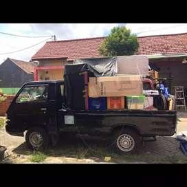 Jasa pindahan murah kirim barang sewa mobil pickup AC mobil bak losbak