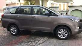 Innova Crysta 7 Seater Available for Booking