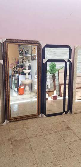 Mirrors with frames