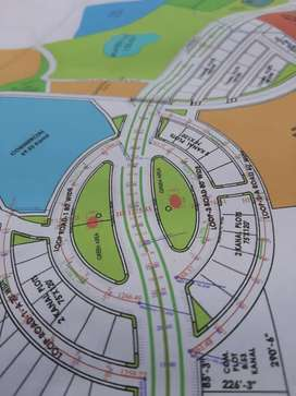10 marla General plot file for sale in blue world city Islamabad