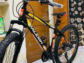 Raleigh bicycle imported brand .
