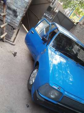 mazda 323 79 model blue color