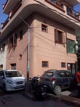 2 marla, East facing triple story, corner house