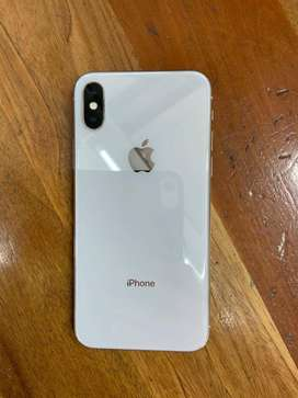 Apple iPhone X 256gb   Silver   SealedPacked With bill available cod o