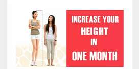 Increase height in between age 12 to28