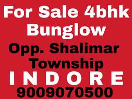 4bhk Bungalow For sale In Indore Call For more Details